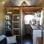 hTGFO5omsHw - Обустройство загородного дома и участка своими руками - Дизайн уютного маленького дачного дома 11 кв метров. 8 фото