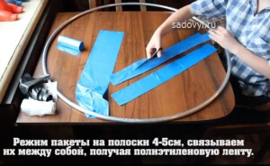 коврик на пол из пакетов своими руками