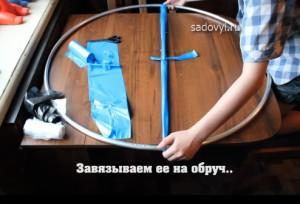 как сделать коврик для ног из полиэтиленовых пакетов