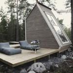 hzTMdEyNuRE - Обустройство загородного дома и участка своими руками - Маленький дачный домик с террасой. Фото