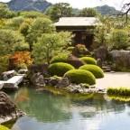 Оформление пруда в японском стиле