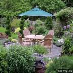 108 - Обустройство загородного дома и участка своими руками - Оригинальные места для отдыха в загородном доме