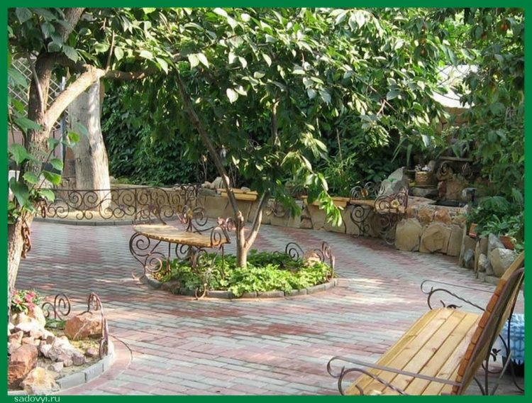 Очень красивые задние дворы, 47 фото