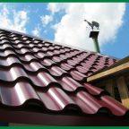 metalocerepitsa5 - Обустройство загородного дома и участка своими руками - Что можно сделать на даче с металлочерепицей?
