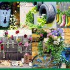 diy garden decorations 19 handmade cheap garden decor ideas to upgrade garden concept.png - Обустройство загородного дома и участка своими руками - Handmade сегодня – самый актуальный тренд в садовой моде