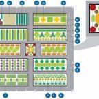 mWn6 S O90 - Обустройство загородного дома и участка своими руками - Схема овощной клумбы, картинка + описание